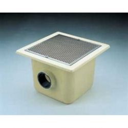 SUMIDERO 515x515 mm PISC. HORM. PFV SAL. 125 REJILLA INOX