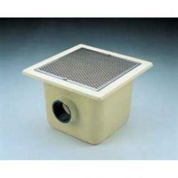 SUMIDERO 515x515 mm PISC. HORM. PFV SAL. 140 REJILLA INOX