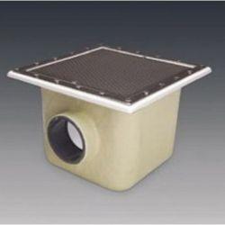 SUMIDERO PISC. PREF. POL. Y F.V. 515x515 mm SAL. 110 REJILLA INOX